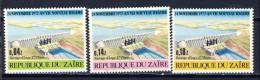 Cono Kinshasa - Zaire Cat.  COB-OBP  Nr 823-825    (xx) - Zaïre