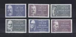 France Timbre De 1987   N°2454 Au N°2459  Neuf **serie Personnage Célèbres - Nuevos