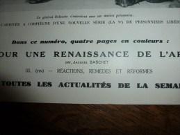 1943 COMPIEGNE; LVF (Légion Des Volontaires Français); Sous-Marins Série;Pompiers Féminins En Allemagne;Retour CIGOGNES - Journaux - Quotidiens
