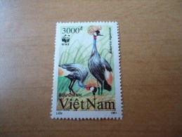 Vietnam: 1 Wert Kranichmotiv (1991) - Vietnam