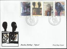 KOS 2014-269-72 ARTS MASLIM MALLIQI, KOSOVO, FDC - Kosovo