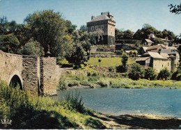Laissac = Chateau Et Pont De Montrozier - France