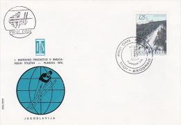 Yugoslavia 1972 Skiing FDC - Skiing