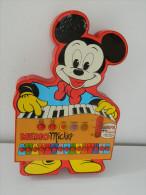 RARE - Vintage - Mémo Mickey - Avril By Bontempi - Walt Disney Productions - Jeu De Musique - RARE - Electronic Games