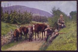 Der Europ. Krieg 1914/16 / Wirklichkeitsbild Nr. 173: Kavallerie-Abteilung Stößt Auf Den Feind - Gel. 1916 - Oorlog 1914-18