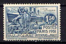 COTE D'IVOIRE - N° 87* - EXPOSITION COLONIALE DE PARIS - Unused Stamps