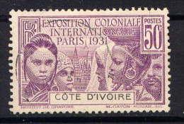COTE D'IVOIRE - N° 85° - EXPOSITION COLONIALE DE PARIS - Used Stamps