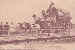 NANCY, Fête De La Vigne Et Du Houblon 1909, Char De Bacchus, Tonnellerie Fruhinsholz, Non Circulee - Nancy