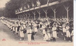 NANCY,,concours Gymnastique, Devant La Tribune Officielle ,  Non Circulee - Nancy
