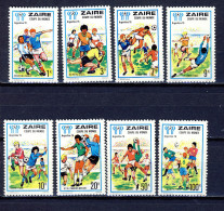 Congo Kinshasa - Zaire  Cat; COB-OBP  Nr 928-935    (xx) - Zaïre