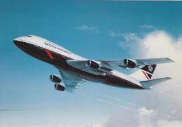 British Airways Boeing B747 200 Aircraft Postcard (A24784) - 1946-....: Modern Era