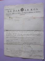 RECU DE PAR LE ROI  DE 1788  RARE VILLE AGEN - Assignats & Mandats Territoriaux