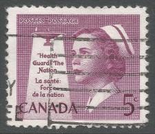 Canada. 1958 National Health. 5c Used - 1952-.... Reign Of Elizabeth II
