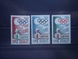 Maroc 1964. Yvert 476-8 ** MNH - Marocco (1956-...)
