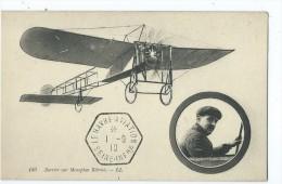 CPA - Barrier Sur Monoplan Blériot - Aviateurs