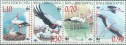 BH 1998-132-5 W W F, BOSNA AND HERZEGOVINA, 1 X 4v, MNH - W.W.F.