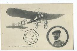 CPA - Alfred Leblanc Sur Monoplan Blériot - Aviateurs