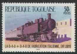 Togo 1984 Mi 1811 ** Italian-built Steam Locomotive, Libya / Lokomotive  / Chemin De Fer - Treinen