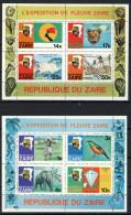 Congo Kinshasa - Zaire Cat COB-OBP  Bloc Nr 30A - 30B   (xx) - Zaïre