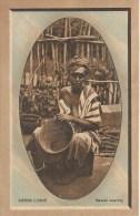 Sierre Léone      Basket  Weaving   Postcard 1917 - Sierra Leone
