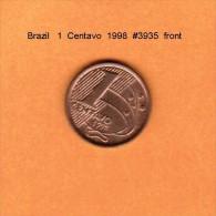 BRAZIL   1  CENTAVO   1998   (KM # 647) - Brazil