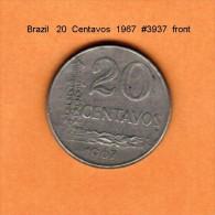 BRAZIL   20  CENTAVOS   1967   (KM # 579) - Brazil