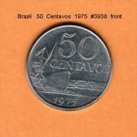 BRAZIL   50  CENTAVOS   1975   (KM # 580a) - Brazil