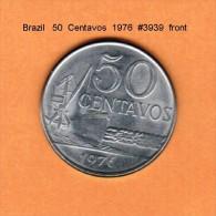 BRAZIL   50  CENTAVOS   1976   (KM # 580b) - Brazil