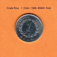 COSTA RICA   1  COLON   1989   (KM # 210.2) - Costa Rica
