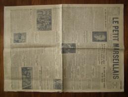 Marseille(dept 13)Journal  Du Mercredi 4 Juillet 1929 Le Petit Marseillais - Journaux - Quotidiens