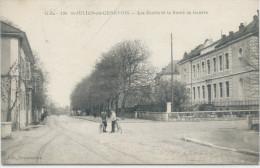 SAINT-JULIEN EN GENEVOIS 574 / Haute Savoie) Les écoles Et La Route De Genève - Saint-Julien-en-Genevois