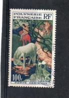 POLYNESIE FRANCAISE        100 F    Année1958    Y&T:PA 3   ( Oblitéré) - Airmail