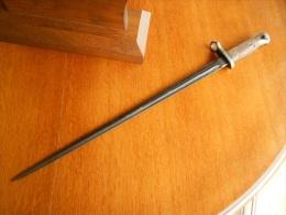 Baionnette Pour Fusil : 1899 Et Carabine Mle 1916  Belge Ou Allemand - Armes Blanches