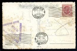 Cachet Postal Au Dos Cpa : Cachet American Embassy Disbursing Office 23 Nov. 1927 Rue De Chaillot Paris .. BCH10 - Marcophilie (Lettres)