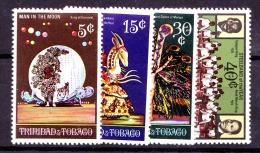 Trinidad & Tobago, 1970, SG 371 - 375, Set Of 4, MNH - Trinidad En Tobago (1962-...)