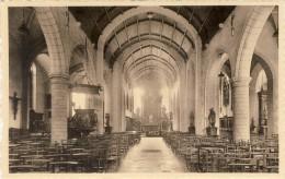 ZWIJNDRECHT - Binnenzicht Der Kerk - 2 Scans  (VINTAGE POSTCARD) - Zwijndrecht