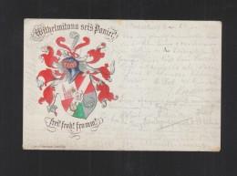 Studentika PK Wilhelmitana Sei's Panier 1900 Elsass - Schools