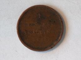 DANEMARK 1 RIGSBANK SKILLING 1813 - Danemark