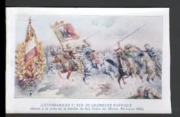 COLLECTION DU PETIT PARISIEN - L'ETENDARD DU 1er REGt DE CHASSEURS D'AFRIQUE - Japon