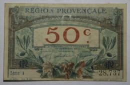CHAMBRE De COMMERCE PROVENCALE 50 Ct Fr  Série 1    Banque Billet  Paper Money  Port Gratuit - Chambre De Commerce