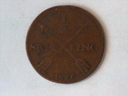 SUEDE 1/2 SKILLING 1827 - Suède