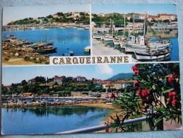 CARQUEIRANNE / JOLI LOT DE 6 CARTES PHOTOS / PHOTOS ET DESCRIPTIFS - Carqueiranne