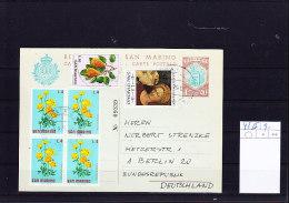 San Marino Postal Stat / GA Michel Cat.No. P42II Gest - Interi Postali