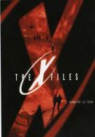 """France: 1998 Cinema Carte PAP Privée Fox Distribution!! """"the X File"""" Combatre Le Futur Le Film Repiquage Folon"""