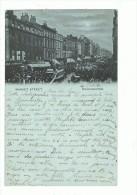 MANCHESTER --Market  Street --cpa 1900 ,scan Recto-verso - Manchester