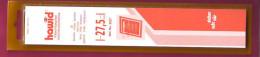 3 LOTS DE 25 BANDES HAWID FOND TRANSPARENT SIMPLE SOUDURE 210 X 27,5 Environ 30% DE REMISE  PRIX VENTE CONSEILLE 22.20 - Stamps