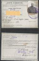 Carte Identité 69 Ecully 1921 - Cartes