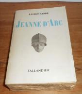 Jeanne D'Arc. Par Lucien Fabre. 1948. - Histoire