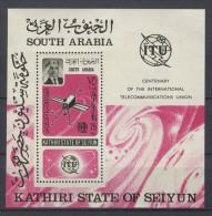 Aden Kathiri - 1966 ITU Block MNH__(TH-2846) - Aden (1854-1963)