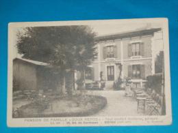 """17) Royan - N Pension De Famille """" DOUX REPOS """" 19 Bl De Cordouan  - Année  - EDIT - Moutonnet - Royan"""